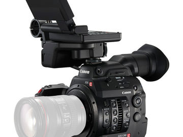 Rent: Two (2) Canon C300 Mark II - Interview Kit with 2 Lenses