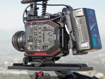 Rent: Panasonic EVA1 Indie Package w/Lenses! (V-Mount Batteries)