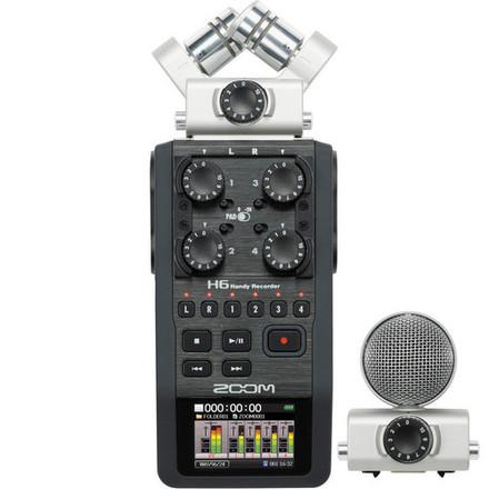 Zoom H6 Handy Recorder w/ Extras