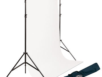 Rent: 10' Seamless Backdrop Stand