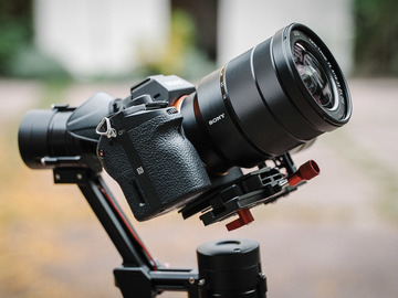 Rent: Sony A7s II Package [Includes EF Mount, Cage and Mic]
