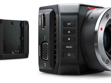 Rent: Blackmagic 4k Micro Studio Camera w/ cage