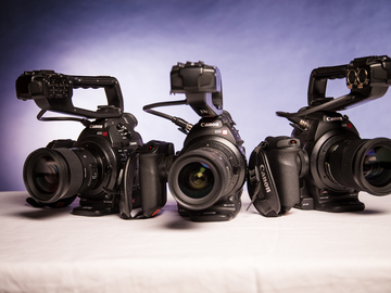 Rent: Canon EOS C100 Cinema Camera (Double Package