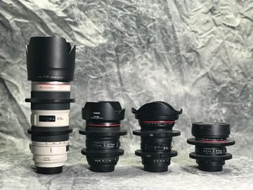 Rent: Canon Misc Zoom Lens Set