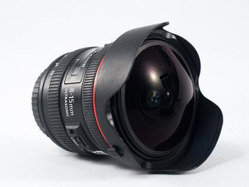 Rent: Canon EF 8-15mm f/4 L USM Fisheye