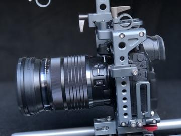 Panasonic GH5 / Tilta cage / Olympus 12-100mm f4 IS