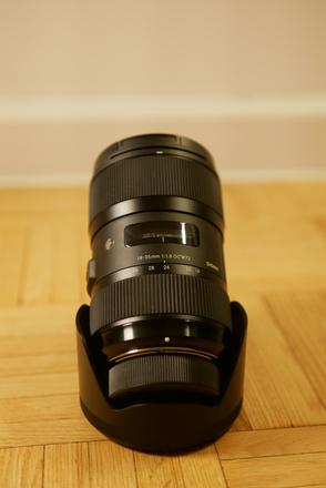 Sigma 18-35mm f/1.8 DC HSM Art for Nikon