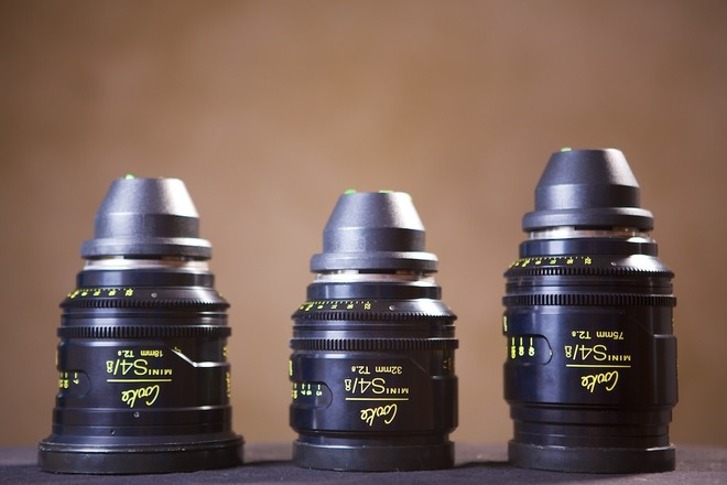 FREE DELIVERY! Cooke Mini S4/i Prime Lens Set