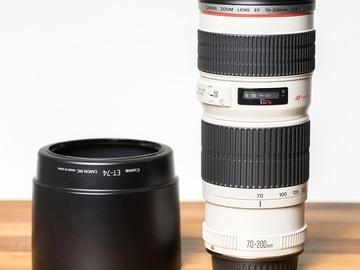 Rent: Canon EF 70-200mm f/4 L USM