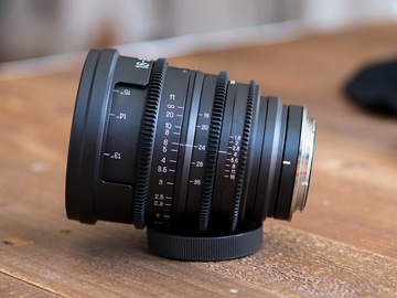 Rent: Sigma 18-35mm f/1.8 PL + EF Cinema Lens