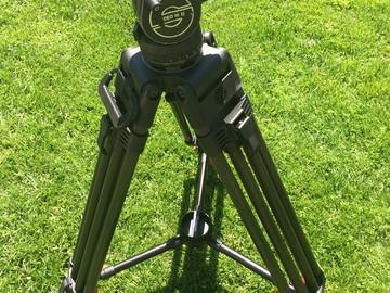 Rent: Sachtler Video 18 Fluid Head Tripod w/ENG CF 2 HD Sticks