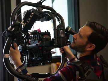 Rent: MoVI Pro Ready Rig and Red Epic Dragon 5 Zeiss Primes