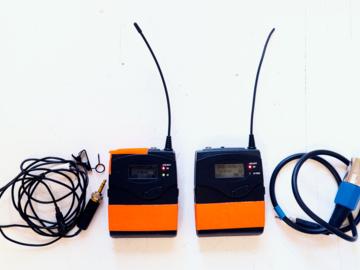 Sennheiser G3 Wireless Lav Kit + Batteries