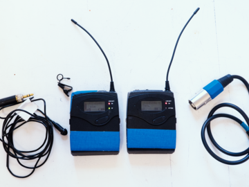 Sennheiser G3 Wireless Lav Kit + Rechargable Batteries