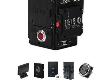 Rent: RED Epic-W Helium 8K S35 Kit