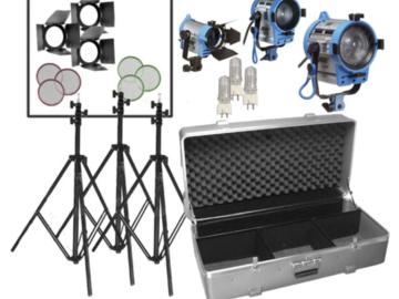 Rent: ARRI 300 and 650 Light Kit
