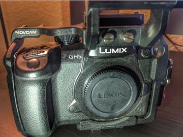Rent: Panasonic Lumix DC-GH5 Digital Camera & Metabones