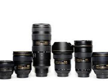 Rent: Nikon f1.4 Prime Lens Package