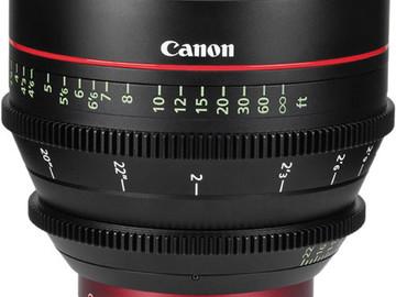 Rent: Canon CN-E 50mm T1.3 Prime EF Mount
