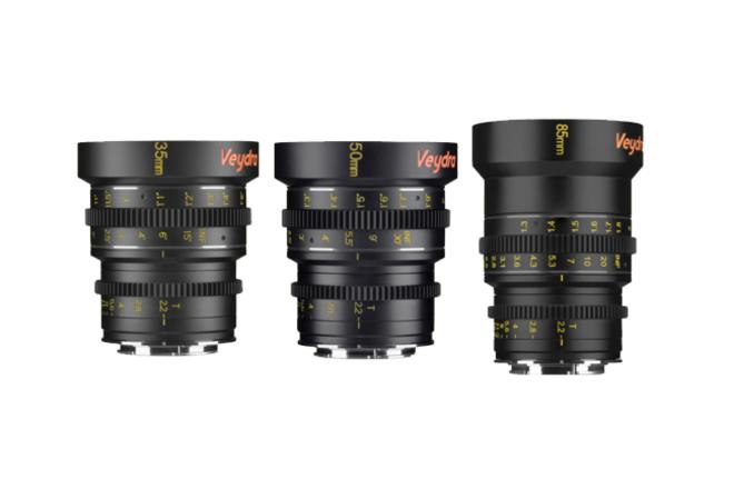Veydra Mini Cinema Lenses Package