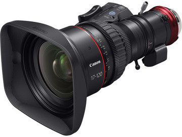 Rent: Canon CINE-SERVO 17-120mm T2.95-3.9