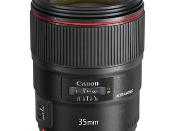 Rent: Canon EF 35mm f/1.4L II