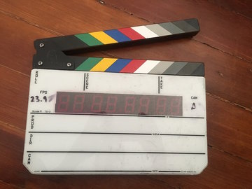 Rent: Denecke TS-3 Timecode Slate with adapter included
