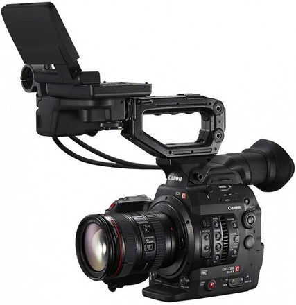 Canon EOS C300 Mark II with Canon EF 24-105mm f/4L IS USM Le