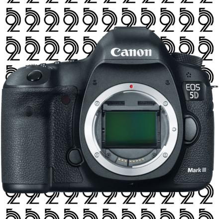 Canon EOS 5D Mark III + (2) 32GB CF Cards