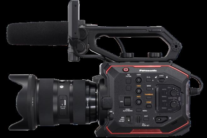 Panasonic AU-EVA1 Indie Camera Package + Sigma Art Lenses
