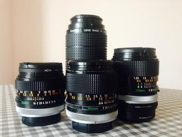 Rent: Canon FD lenses