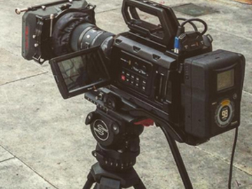 Rent: Blackmagic URSA MINI Camera Package w/ 18-35mm Lens