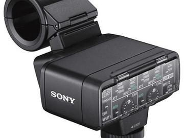 Sony XLR-K2M XLR Adapter Kit with Shotgun Mic