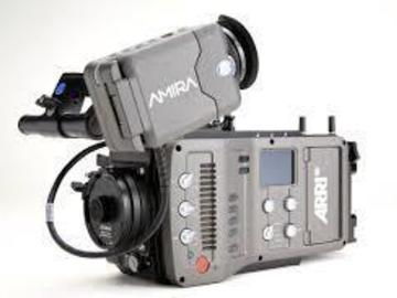Rent: ARRI AMIRA 4K w/ O'CONNOR 1030 and ALURA 30-80MM LENS