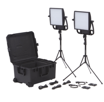 Litepanels Astra 2X Traveler Bi-Color Duo 2-Light Kit