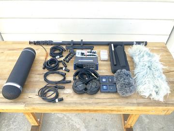 Arboretum Zoom F8 - Sennheiser Basic Audio Rig
