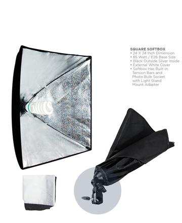 LimoStudio 700W Photography Softbox Light Lighting Kit Photo