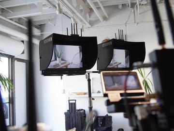 Rent: Teradek Multicam Wireless Video Village w/SmallHD Monitors