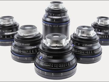 Rent: CP2 lens set 18,25,35,50,85,100