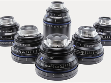 Rent: CP2 lens set 18,25,35,50,85,100   6hole set