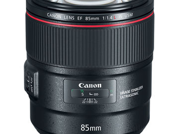 Rent: Canon EF 85mm f/1.4L IS USM