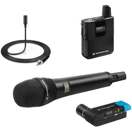 Sennheiser Wireless Lavalier/Handheld Mic Set