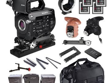 Rent: Sony FS7 (w/ 4x Cards, Batteries, EF Mount)