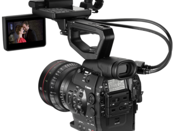 Rent: Canon C300 EF Mount (basic package)