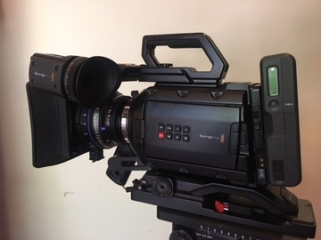 Rent: Blackmagic URSA Mini 4.6K - mobile package