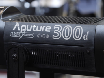 Rent: Aputure 300d  with Fresnel Mount