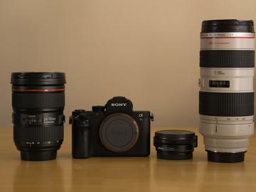 Rent: Sony Alpha a7S II + Metabones & Lenses