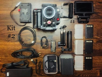 Rent: RED Epic Dragon 6K kit #2 + matte box, rods and ND