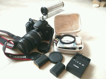 Rent: Canon 60D w/ Canon EF-S 18-200mm & accessories