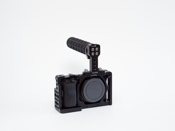 Rent: Sony Alpha a6300 Mirrorless Digital Camera w/ Smallrig cage